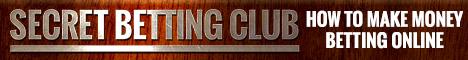 Secret betting club