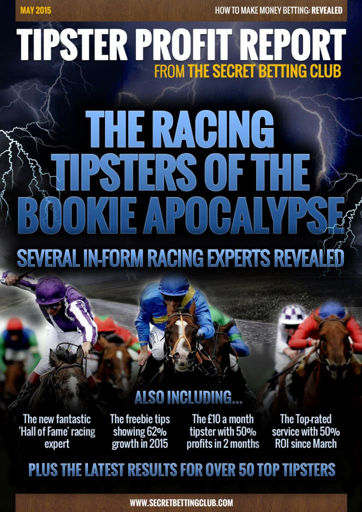 Tipster Profit Report May 2015