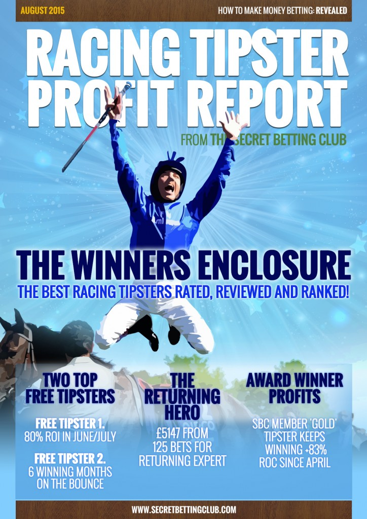 Tipster Profit Report August 2015 Released