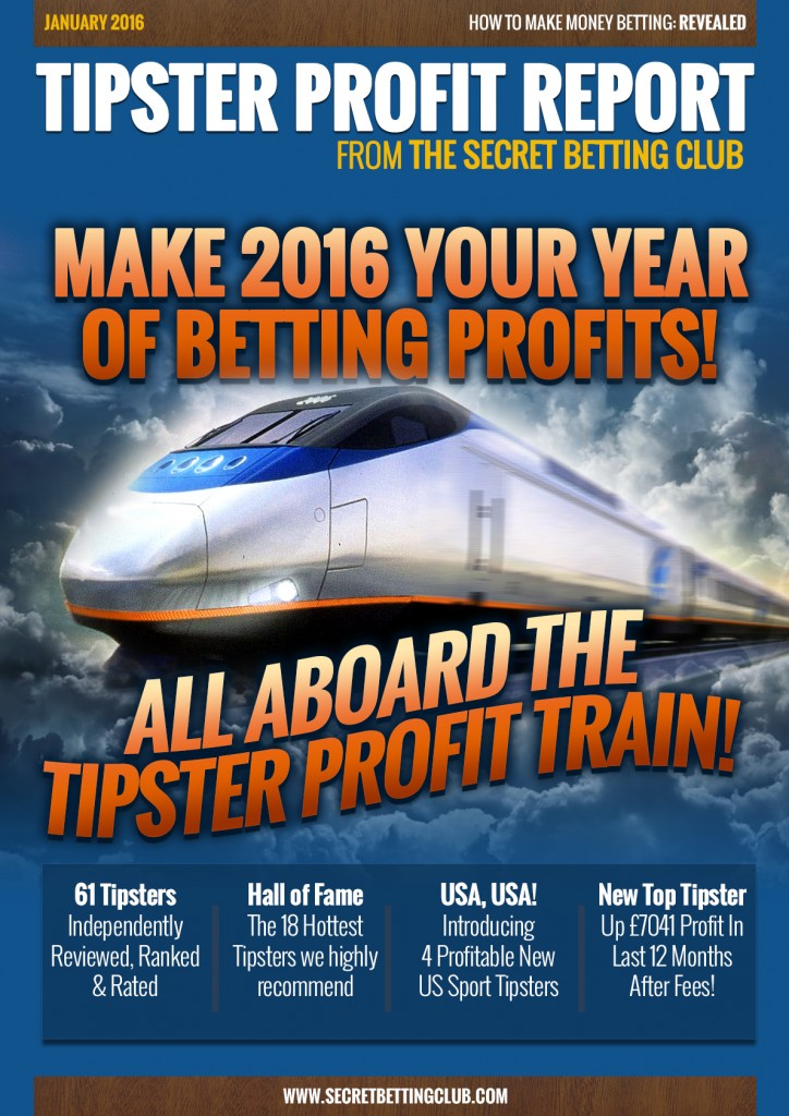 Tipster Profit Report January 2016