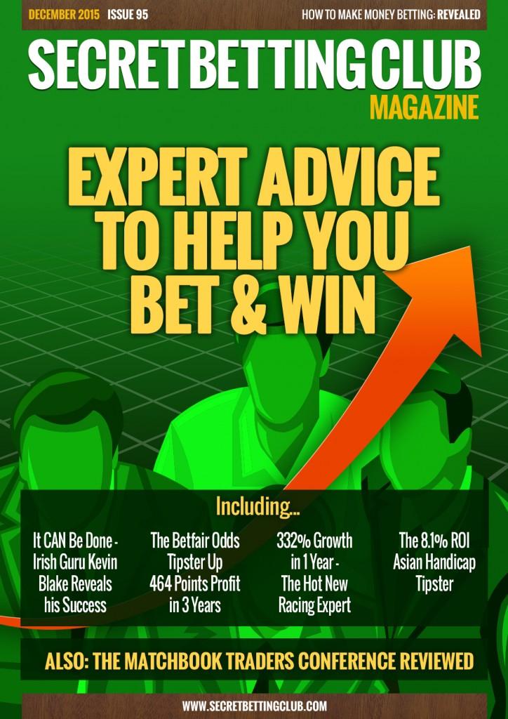 SBC 95 - EXPERT ADVICE TO HELP YOU BET & WIN