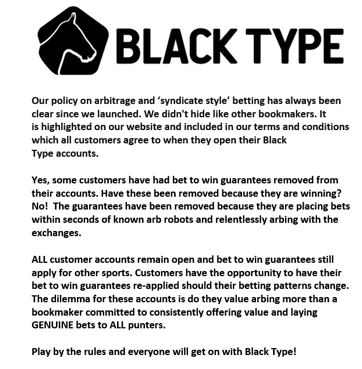Black-Type-Policy